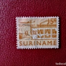 Sellos: SURINAME - SURINAM - GUAYANA NEERLANDESA - VALOR FACIAL 15 C - AVIÓN. Lote 222184635