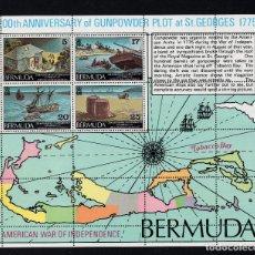 Sellos: BERMUDA HB 3** - AÑO 1975 - BICENTENARIO DE LA INDEPENDENCIA DE ESTADOS UNIDOS. Lote 222358797