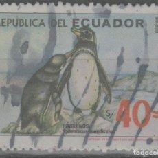 Sellos: LOTE (2) SELLO ECUADOR FAUNA. Lote 222413033