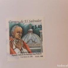 Sellos: EL SALVADOR SELLO USADO. Lote 222537613