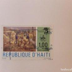 Sellos: HAITI SELLO USADO. Lote 222541411