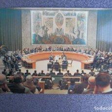 Sellos: NACIONES UNIDAS POSTAL AÑO 1964 CON MATASELLO DE RODILLO DE LAS NACIONES UNIDAS. Lote 222609567