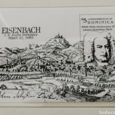Sellos: DOMINICA. 5 DOLLARS 1985 J. S. BACH. Lote 222657938