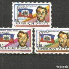 Timbres: HAITI CORREO AEREO YVERT NUM. 659/661 SERIE COMPLETA USADA. Lote 225730655
