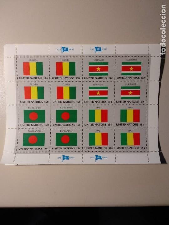 NACIONES UNIDAS -BANDERAS- (Sellos - Temáticas - Varias)