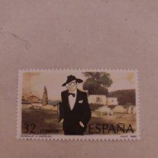 Sellos: SELLOS 2873 II CENT NACIMIENTO ALFONSO RODRIGUEZ CATELAO. Lote 229110005
