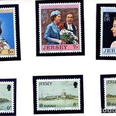 Sellos: JERSEY - LOTE: EUROPA 1978 + SILVER JUBILEE 1977 - NUEVOS. Lote 231438855