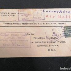 Sellos: PANAMÁ CORREO AÉREO 1930. Lote 235804420