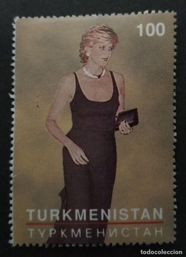 SELLO TURKMENISTAN DIANA. MNH (Sellos - Temáticas - Varias)