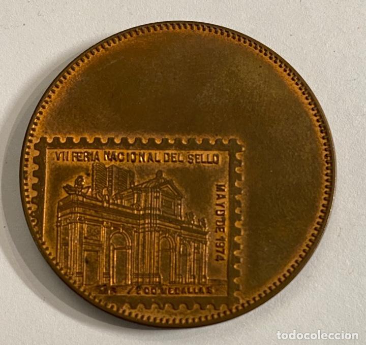 Sellos: Medalla VII Feria Nacional del Sello 1974 - Foto 2 - 236302720