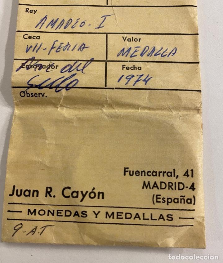 Sellos: Medalla VII Feria Nacional del Sello 1974 - Foto 3 - 236302720