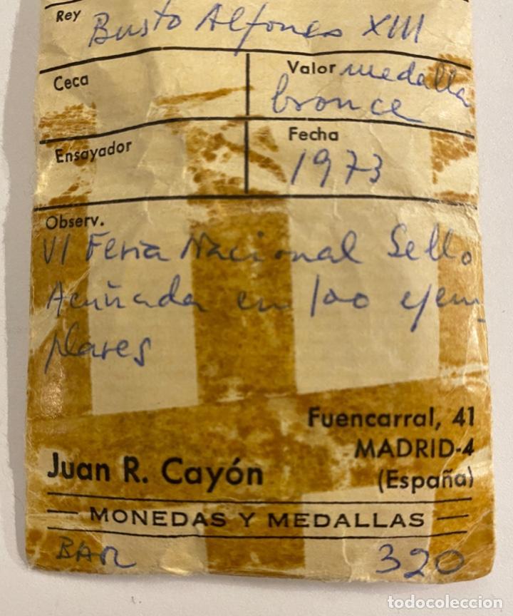 Sellos: Medalla VI Feria Nacional del Sello 1973 - Foto 3 - 236304540
