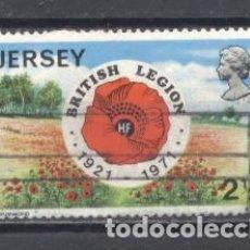 Sellos: JERSEY,1971,USADO, LEGION BRITANICA. Lote 237480940