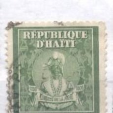 Sellos: HAITI, USADO, ANIVERSARIO DE LA MUERTE DEL EMPERADOR J.J. DESSALINES. Lote 239486590