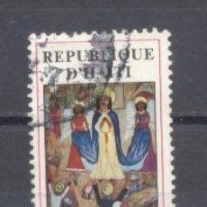 Sellos: HAITI, PREOBLITERADO, ARTE RELIGIOSO. Lote 239492730