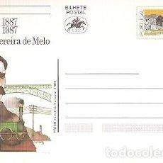 Sellos: PORTUGAL ** & INTERO, HOMENAJE A FONTES PEREIRA DE MELO 1887-1987 (6868). Lote 242147565