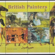 Sellos: F-EX21998 SOMALIA MNH 1999 PAINTING ART BRITISH UK HORSE LONDON STAMPS SHOW.. Lote 244622320