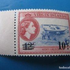 Timbres: -ISLAS VIRGENES, 1962, SELLO SOBRECARGADO YVERT 132. Lote 244739690
