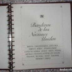 Sellos: ALBUM SELLOS UNICEF - BANDERAS DE LAS NACIONES UNIDAS.. Lote 245229060