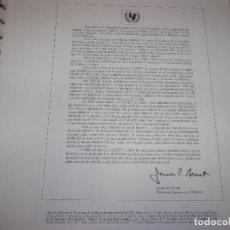 Sellos: ALBUM SELLOS UNICEF - BANDERAS DE LAS NACIONES UNIDAS.. Lote 245235045
