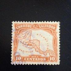 Sellos: EL SALVADOR 10 CENTS AÑO 1932.. Lote 245949345