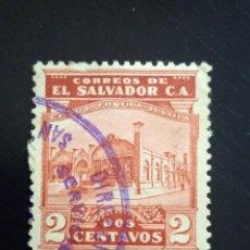 Sellos: EL SALVADOR 2 CENTS VIRTUD FORTIUS, AÑO 1935.. Lote 245950080