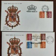Sellos: MATASELLOS PRIMER DÍA. ESPAÑA 1995. SERIE BÁSICA. Lote 246226230