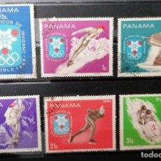 Sellos: PANAMA. 1968.JJOO INVIERNO GRANOBLE ( FRANCIA ) SERIE . *,MH( 21-209). Lote 251562555