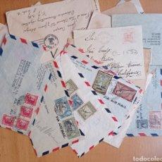 Sellos: LOTE CARTAS AMÉRICA FRONTALES COLOMBIA URUGUAY COLOMBIA. Lote 252149710