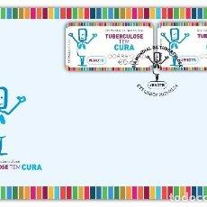 Sellos: PORTUGAL & FDC DÍA MUNDIAL DE LA TUBERCULOSIS, LA TUBERCULOSIS TIENE CURA 2021 (65677). Lote 253731620