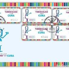 Sellos: PORTUGAL & FDC DÍA MUNDIAL DE LA TUBERCULOSIS, TUBERCULOSIS TIENE CURA 2021 (6576). Lote 254102090