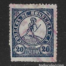 Sellos: HONDURAS - CLÁSICO. YVERT Nº 202 USADO Y DEFECTUOSO. Lote 254292905