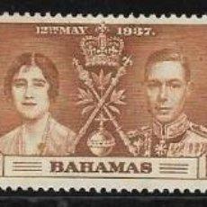 Sellos: BAHAMAS IVERT 98/100 SERIE COMPLETA CON GOMA Y LEVE CHARNELA. Lote 254589865