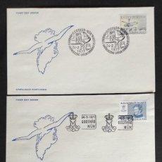 Sellos: GROELANDIA- SOBRES DE PRIMER DIA AÑO 1977- YVERT 88/89/90. Lote 254891445