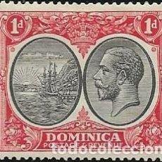 Sellos: DOMINICA YVERT 69A NUEVO CON GOMA Y CHARNELA. Lote 254976135