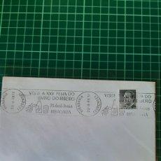Sellos: 1988 RIVADAVIA FEIRA VINO ENOLOGÍA OURENSE GALICIA MATASELLO RODILLO 1988. Lote 255407315