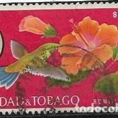 Sellos: TRINIDAD Y TOBAGO YVERT 188 FLORA Y FAUNA. Lote 255565065