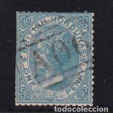 Sellos: HONDURAS BRITANICA ..1 USADA, VICTORIA. Lote 257279495