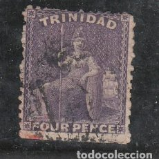 Sellos: TRINIDAD COLONIA BRITÁNICA .22 USADA, BRITANIA. Lote 258119955