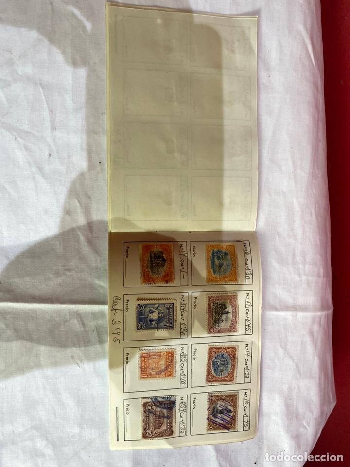 Sellos: Álbum de sellos antiguos GUATEMALA clasificados- ver fotos - Foto 5 - 261763650