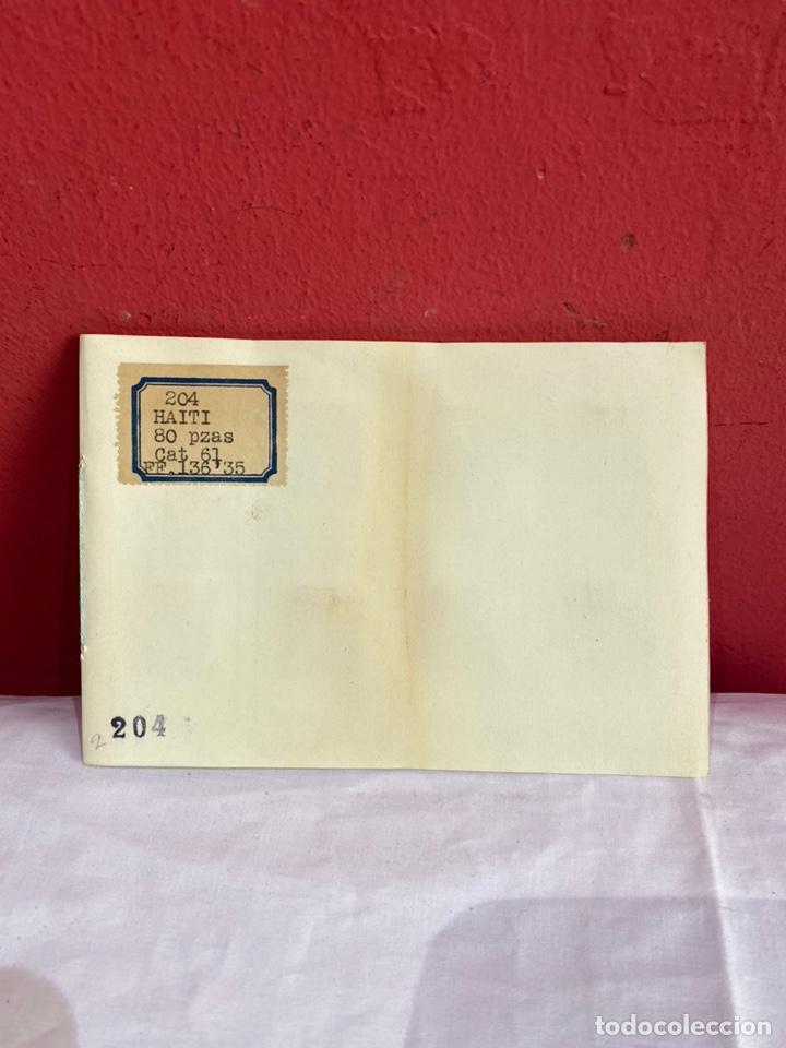 Sellos: Álbum de sellos antiguos haiti . 80 piezas clasificados. Ver fotos - Foto 2 - 261783830