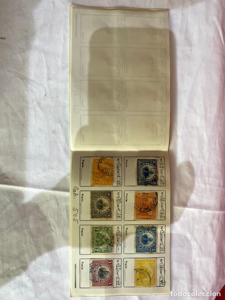 Sellos: Álbum de sellos antiguos haiti . 80 piezas clasificados. Ver fotos - Foto 8 - 261783830