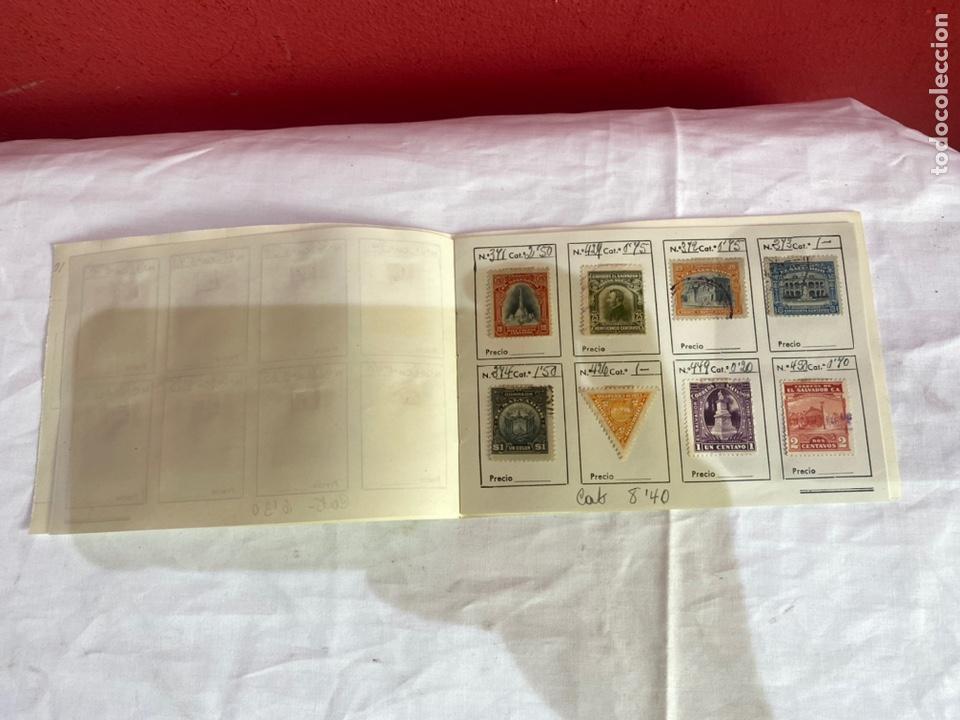 Sellos: Álbum de sellos antiguos salvador - Nicaragua . Clasificados . Ver fotos - Foto 3 - 261789410