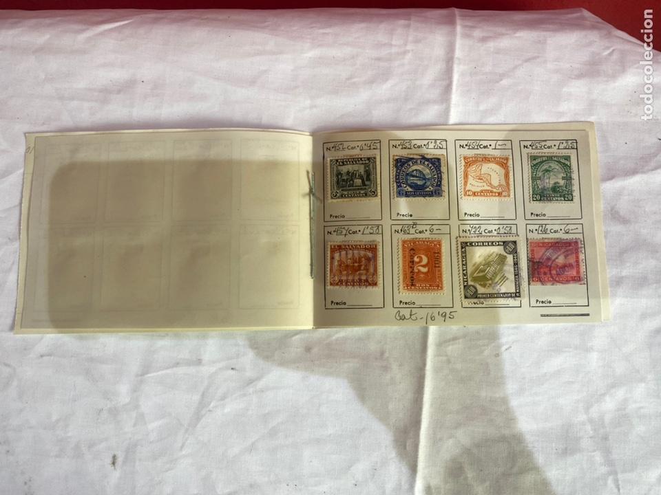 Sellos: Álbum de sellos antiguos salvador - Nicaragua . Clasificados . Ver fotos - Foto 4 - 261789410