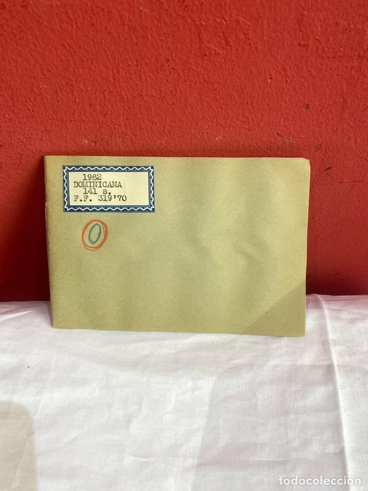 Sellos: Álbum de sellos Domincana antiguos. Coleccion 141 sellos . Ver fotos - Foto 2 - 261792760