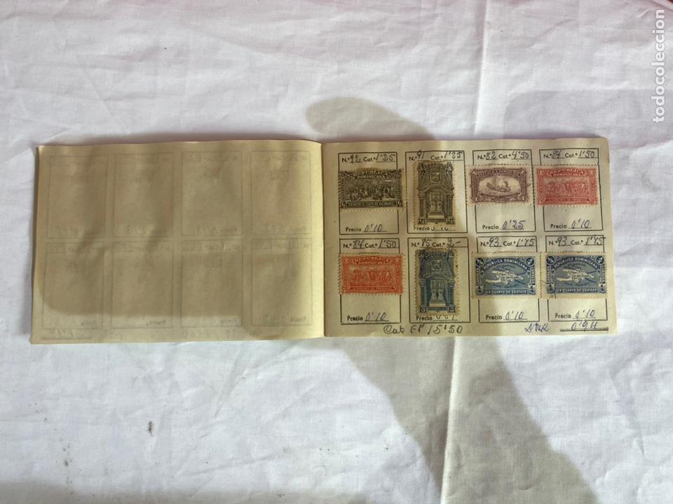 Sellos: Álbum de sellos Domincana antiguos. Coleccion 141 sellos . Ver fotos - Foto 5 - 261792760