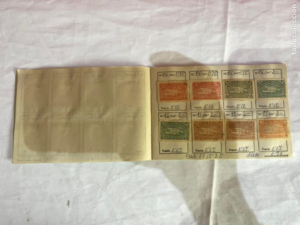 Sellos: Álbum de sellos Domincana antiguos. Coleccion 141 sellos . Ver fotos - Foto 6 - 261792760