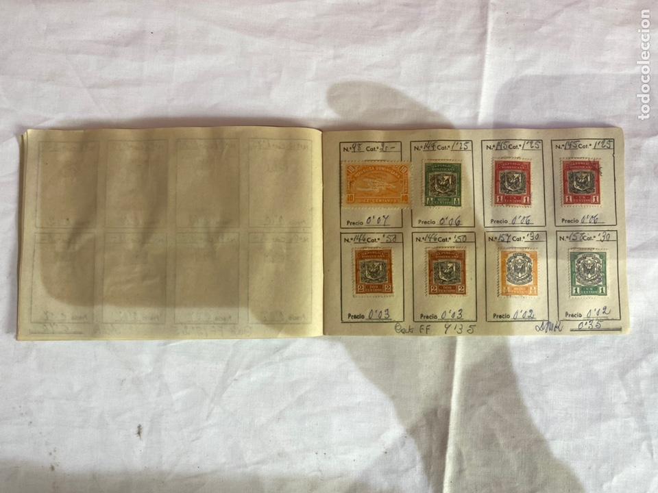 Sellos: Álbum de sellos Domincana antiguos. Coleccion 141 sellos . Ver fotos - Foto 7 - 261792760