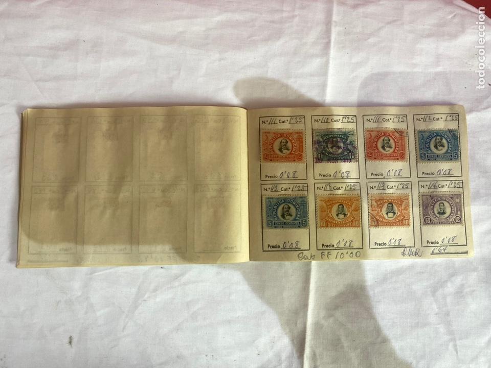 Sellos: Álbum de sellos Domincana antiguos. Coleccion 141 sellos . Ver fotos - Foto 9 - 261792760