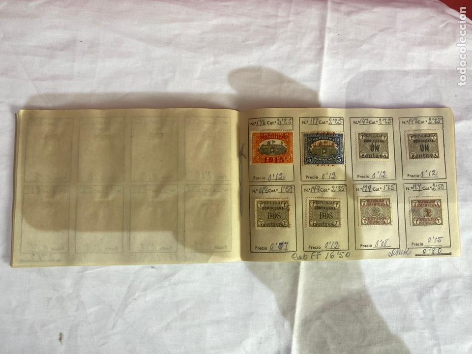 Sellos: Álbum de sellos Domincana antiguos. Coleccion 141 sellos . Ver fotos - Foto 11 - 261792760